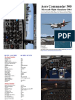 FS2004 Aero Commander 500