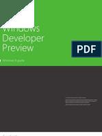 Windows Developer Preview-Windows8 Guide