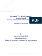 Sections in Income Tax