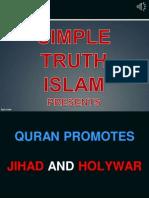 22. Quran Promotes Jihad and Holywar