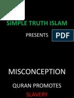 23. Quran Promotes Slavery