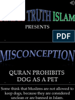 26. Quran Prohibits Dog as a Pet
