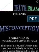 27. Quran Says Women Must Cover Up Fully