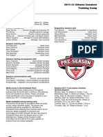 Training Camp Guide 2011 12