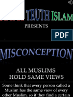 31. All Muslims Hold Same View