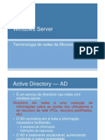 Terminologia de redes da Microsoft