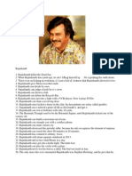 101 Rajnikanth Jokes!!