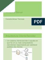 Caracteristicas do Windows Server 2003