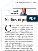 Jordi Barbeta. Ni Dios Ni Patrón