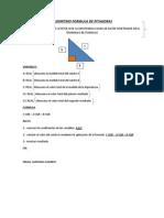 Algoritmo Formula de Pitagoras