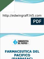 Laboratorio FARMACEUTICA DEL PACIFICO (FARPASAC)