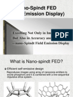 Nano-Spindt FED (Edited)