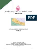 NBC105 - Seismic Design of Buildings in Nepal