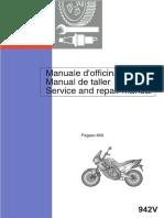 Pegaso 650 - '97 - Service Manual