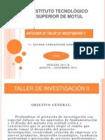 Antologia Taller de Investigacion II