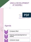 Godrej Training and Development