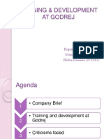 Godrej Training and Development
