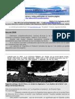 Boletin Nº 9 de la Comision de Exiliados Argentinos en Madrid