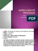 Modelagem de Processos - Aula 1