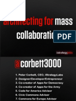 Architecting for Mass Collaboration