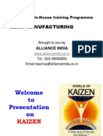 Presentation on TPS -JIT Kanban