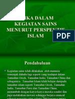 Bab 10 -Etika Dalam Kegiatan Sains Menurut Perspektif Islam