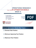 Network Optimization Models