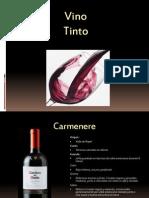 Vino Tinto Presentacion