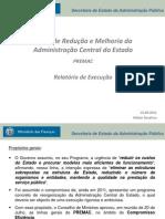 Plano de Redução e Melhoria da Administração Central do Estado (PREMAC)