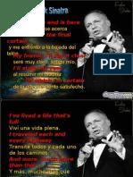 Sinatra My Away Diapositivas