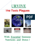Survive the Toxic Plagues:  With Essential Immune Nutrients and Detox!