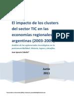 Clusters del sector TIC y polos tecnológicos en Argentina