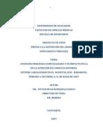 Atención urológica especializada y atención de consulta externa. pro