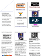 LGBT History Month 2010 Film Night Leaflet
