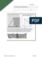 Trabalho de teorema de Pitágoras