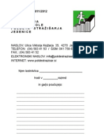 Publikacija OŠ Poldeta Stražišarja 2011-12
