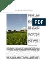 A posse da terra e o desenvolvimento