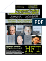 Patrick Morris, Chief Executive Officer, HAGIN Investment Management, Speak at High-Frequency Trading Conference