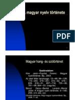 A magyar nyelv története