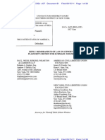 Edie Windsor's Reply Brief in DOMA case