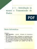 Introdução às redes - transmissão de dados