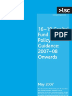 16-19 Capital Fund Guidance