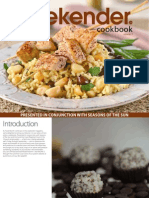 Weekender Recipe Book Volume Three