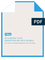 Activating Your Marketing Mix With Mobile Aug 2011