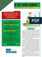 La Gazeta de Mora Claros nº 123 - 16092011