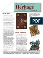 The Peregrine Fund Heritage SPRING 2008