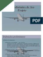 3 - Aerodinamica Da Asa - Projeto