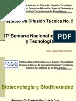 BIOTECNOLOGIA Y BIODIVERSIDAD