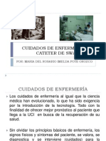 CUIDADOS DE ENFERMERÍA DE CATETER DE SWAN GANZ