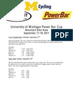 Pontiac Lake Collegiate MTB races